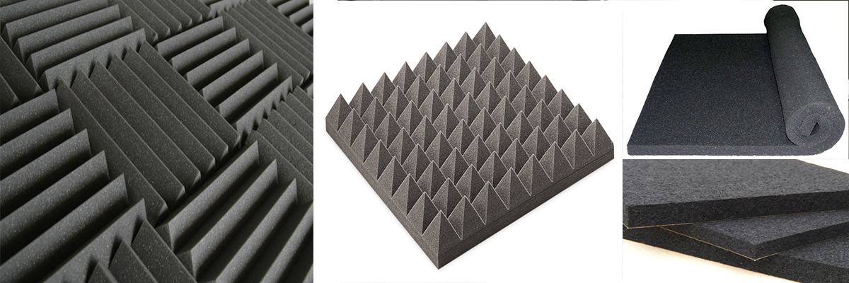Acoustic Wedge Foam