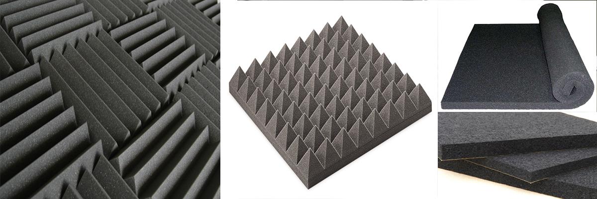 Acoustic Wedge Foam