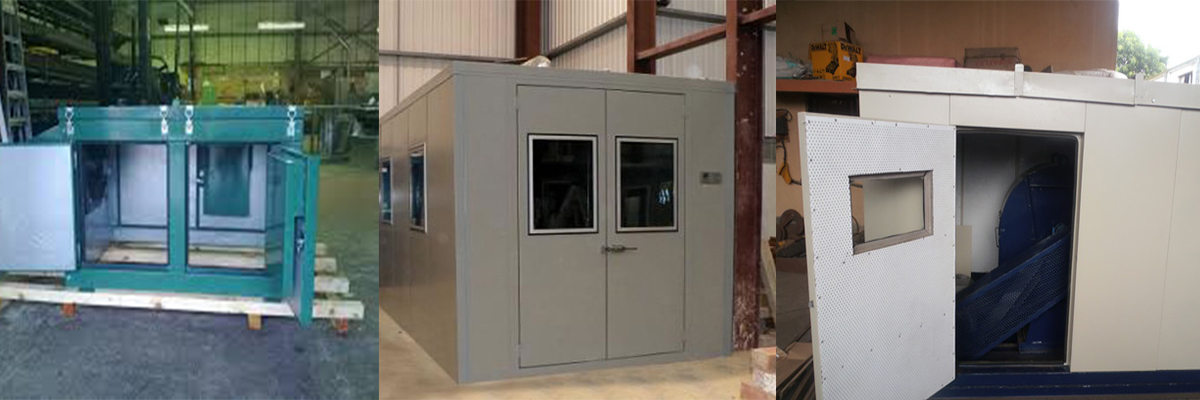 Small Machine and Centrifugal Acoustic Enclosure