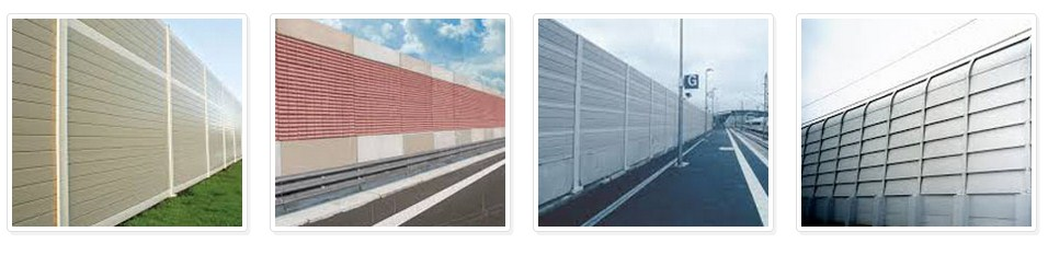 Metallic Noise Barrier Manufacturer and Supplier India