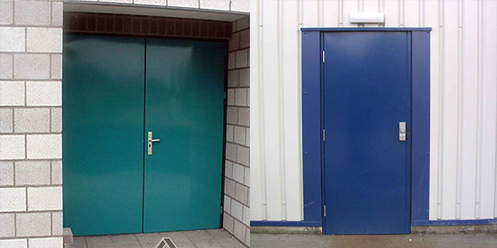 Steel Acoustic Door Manufacturer Supplier Exporter